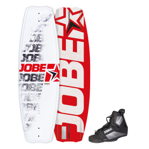 Jobe Logo Series Red 138 Wakeboard Set-STAND