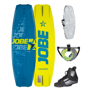 Jobe Logo Series Blue 138 Wakeboard Package-STAND