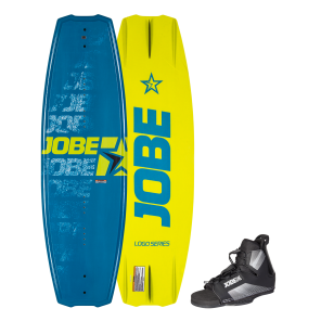 Jobe Logo Series Blue 138 Wakeboard Set-STAND